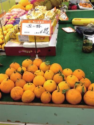 超市高价卖低品质丑橘